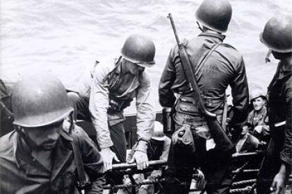 M1 Carbines in use by Underwater Demolition Teams, UDTs