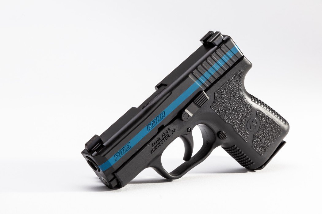 PM9 Thin Blue Line - Kahr Arms - A leader in technology and
