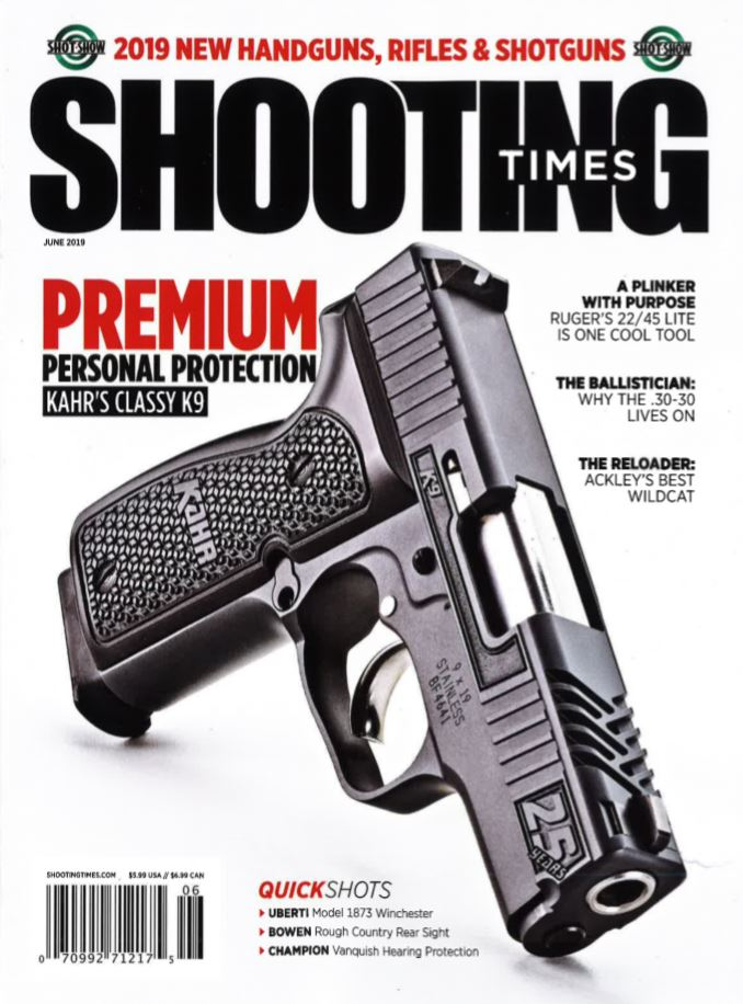 Shooting Times   Kahr's Classy K9 - Kahr Arms - A leader in